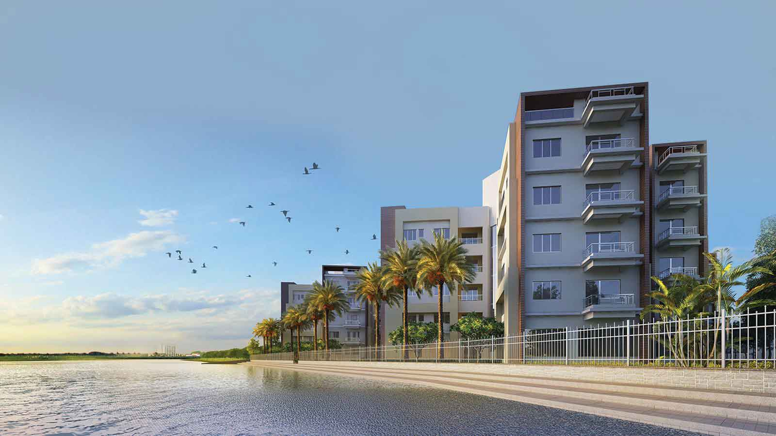 Rameswara Riverview Luxury Flats Barrachpore