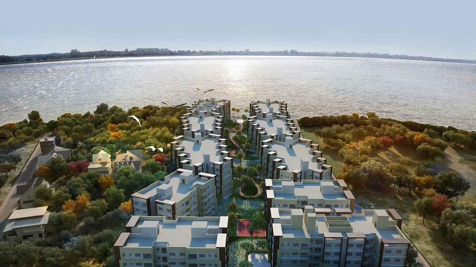 Rameswara Riverview Luxury Apartments by Ganges