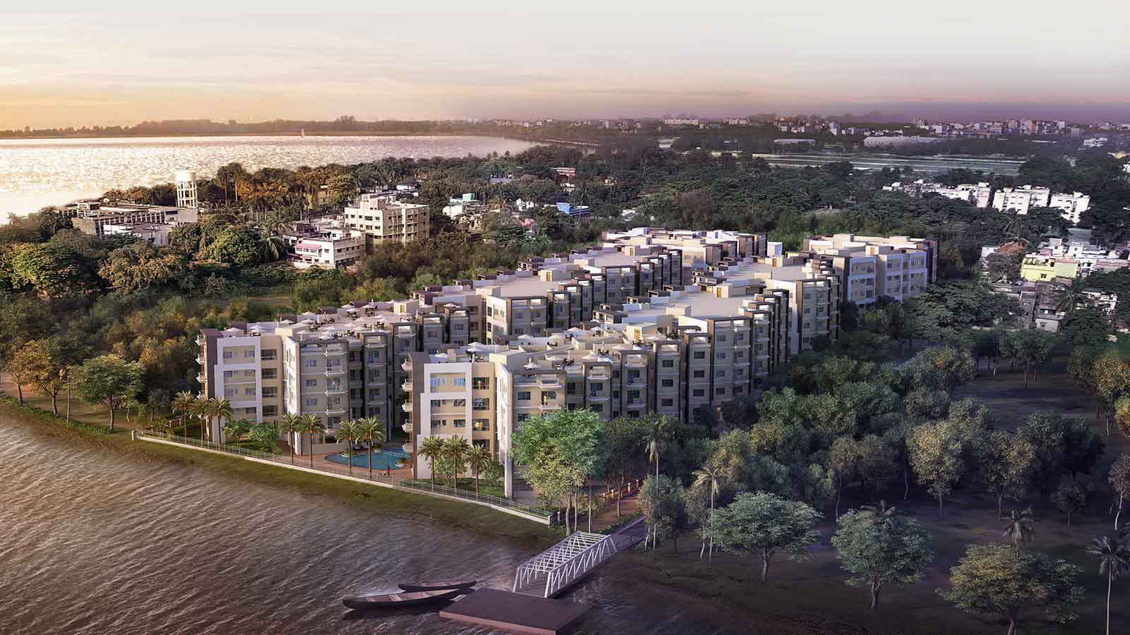 Rameswara Riverview Apartments by Ganges